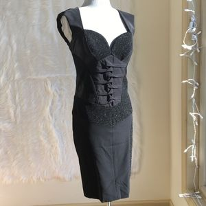Nicole Miller black dress size 4